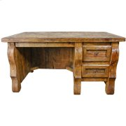 Old Wood Desk W/ 2 Drawers Product Image