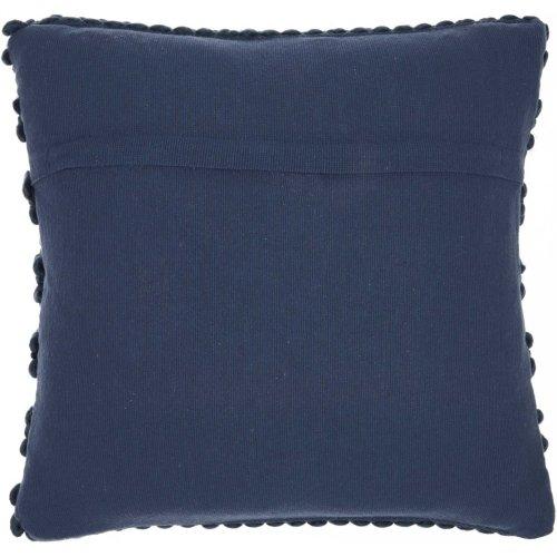 "Life Styles Dc827 Navy 20"" X 20"" Throw Pillows"