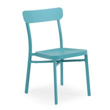 0211 Stackable Chair Turquoise
