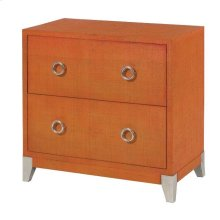 Orange Accent Chest