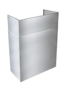 """AEEPD2445SS - 24"""" to 45"""" Telescopic Flue Extension for Outdoor Hoods in a 13"""" Standard Depth Installation"""