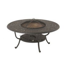 """Chateau 48"""" Round Fire Pit Table"""