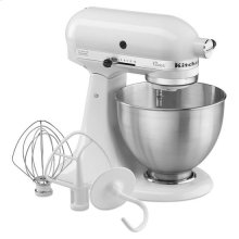 KitchenAid® Classic™ Series 4.5 Quart Tilt-Head Stand Mixer - White