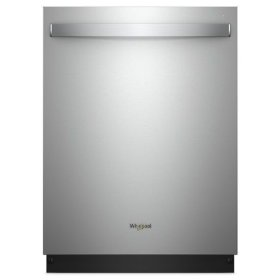 Whirlpool® Smart Dishwasher with Stainless Steel Tub - Fingerprint Resistant Stainless Steel