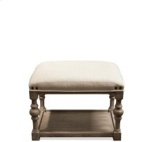 Juniper Upholstered Bunching Bench Natural finish