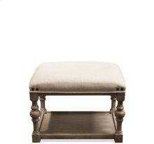 Juniper Upholstered Bunching Bench Natural finish