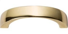 Tableau Curved Handle 1 13/16 Inch - French Gold