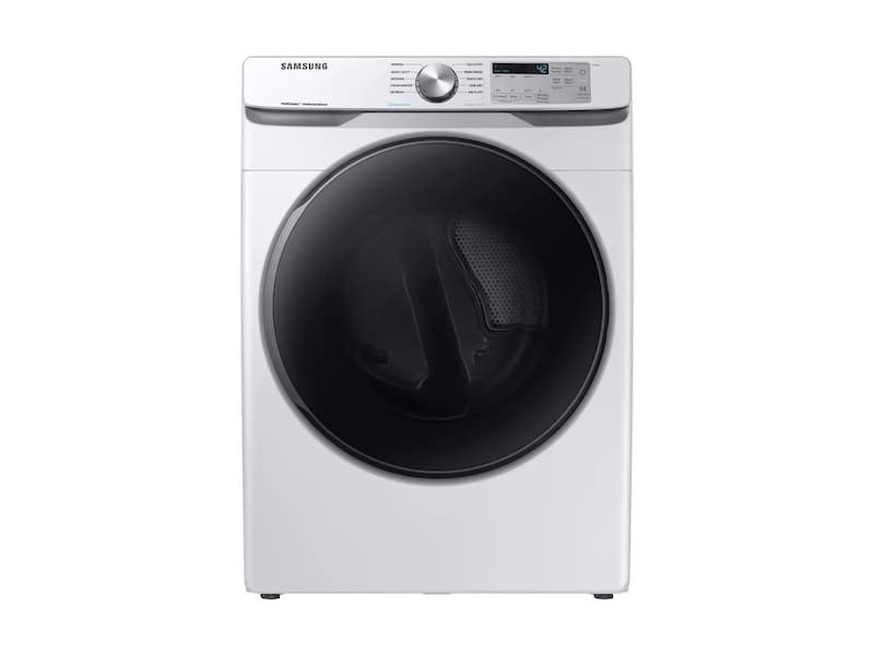 Samsung7.5 Cu. Ft. Gas Dryer With Steam Sanitize+ In White
