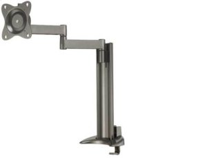 """Graphite Full-Motion Desk Mount for flat-panel monitors up to 30"""" - extends 18.50"""" / 46.99 cm"""