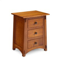 McCoy Nightstand with Drawers, Quartersawn White Oak #26 Michael's