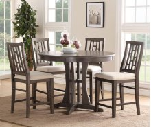 Modesto Transitional Wood Counter Stool
