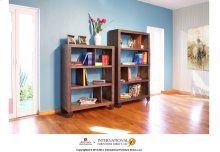 """55"""" Bookcase with 3 shelves & Casters"""