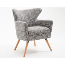 Accent Chair-gray #mazinda 999 Slate