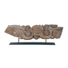 Large Size Carving On Metal Stand