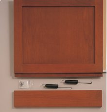 "Built-In Dishwasher 3/4"" Custom Panel Kit - Trimless Look"