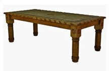 7' Table W/Rope,Stone&Star Medio