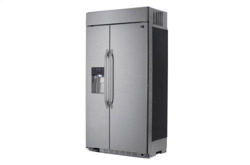 LG STUDIO 26 cu. ft. Smart wi-fi Enabled Side-by-Side Refrigerator