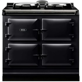 Pewter AGA Dual Control 3-Oven All Electric