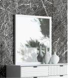 Nova Domus Valencia Contemporary White Mirror Product Image