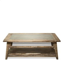 Coffee Table Rough-hewn Gray finish