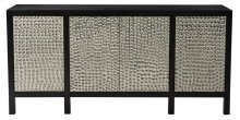 Beauville Credenza in Black Truffle