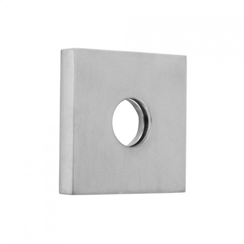 "Polished Nickel - 2 1/2"" x 2 1/2"" Square Escutcheon"