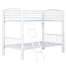 Twin White Econo Bunk Bed