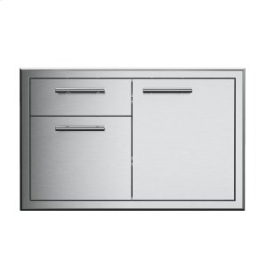 XO APPLIANCE36in Single Roll Out Door and Drawer