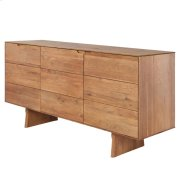 Lorenzo KD Sideboard 3 Doors, Antique Woodland Product Image