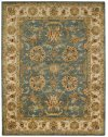 Eloquent Garden Bombay Blue Hand Tufted Rugs