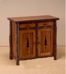 89 Pine Tree Cabinet