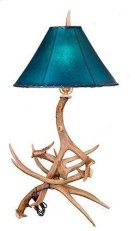 Antler Table Lamp No Shade Product Image