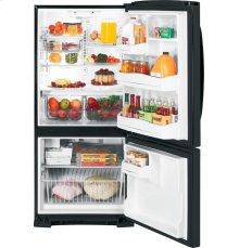 GE® ENERGY STAR® 20.3 Cu. Ft. Bottom Freezer Refrigerator
