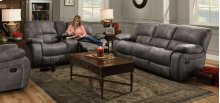 Ulysses Charcoal Reclining Loveseat