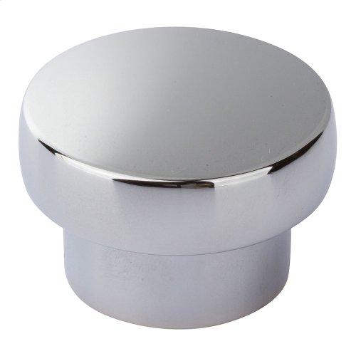 Chunky Round Knob Large 1 13/16 Inch - Polished Chrome