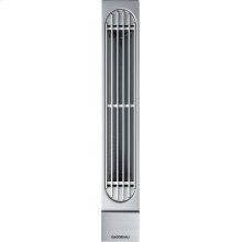"200 series Vario 200 series downdraft ventilation Stainless steel control panel Width 3 3/8"" (8.5 cm)"