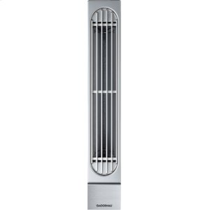 "GaggenauVario 200 Series Downdraft Ventilation Stainless Steel Control Panel Width 3 3/8"" (8.5 Cm)"