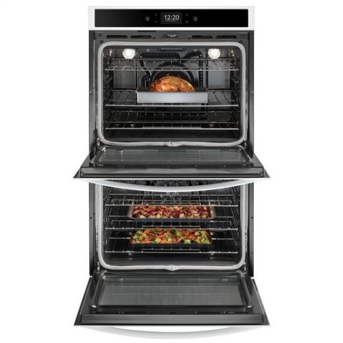 Whirlpool® 10.0 cu. ft. Smart Double Wall Oven with True Convection Cooking - White