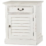 Shutter Nightstand Cabinet Product Image