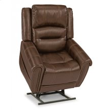 Oscar Leather Power Lift Recliner with Power Headrest