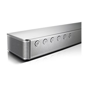 4 1ch 360W Music Flow Wireless Curved Sound Bar with Wireless Subwoofer