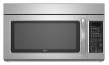 Stainless Steel Whirlpool® 2.0 cu. ft. Microwave-Range Hood Combination