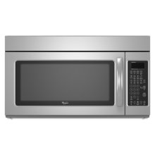 Stainless Steel Whirlpool® 2.0 cu. ft. Microwave-Range Hood Combination