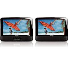 "22.9 cm (9"") LCD Dual screens Portable DVD Player"
