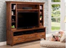 Glengarry HDTV Cabinet w/ Hutch w/ 54'' TV Opening