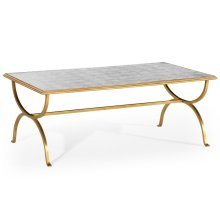 glomise & Gilded Iron Coffee Table