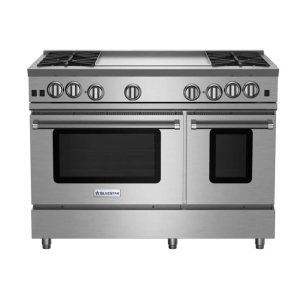 "Bluestar48"" RNB Series Range with 24"" Griddle"