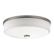 "Ceiling Space Collection 13"" LED Flush Mount NI"