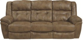 "Power ""Lay Flat"" Recl Sofa w/DDT - Almond"