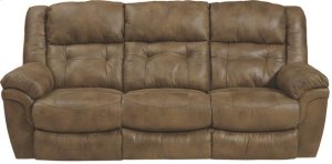 """Lay Flat"" Reclining Sofa - Almond"